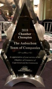 Chamber of Commerce of Cape Coral Recognizes Aubuchon Team of Companies